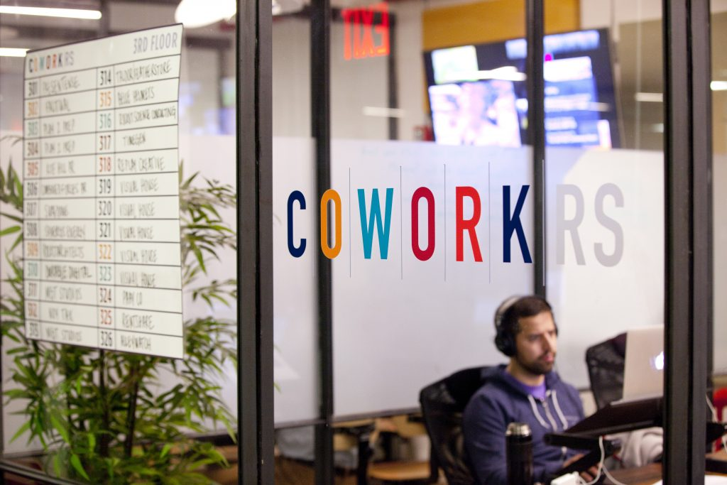 high speed internet in coworking space