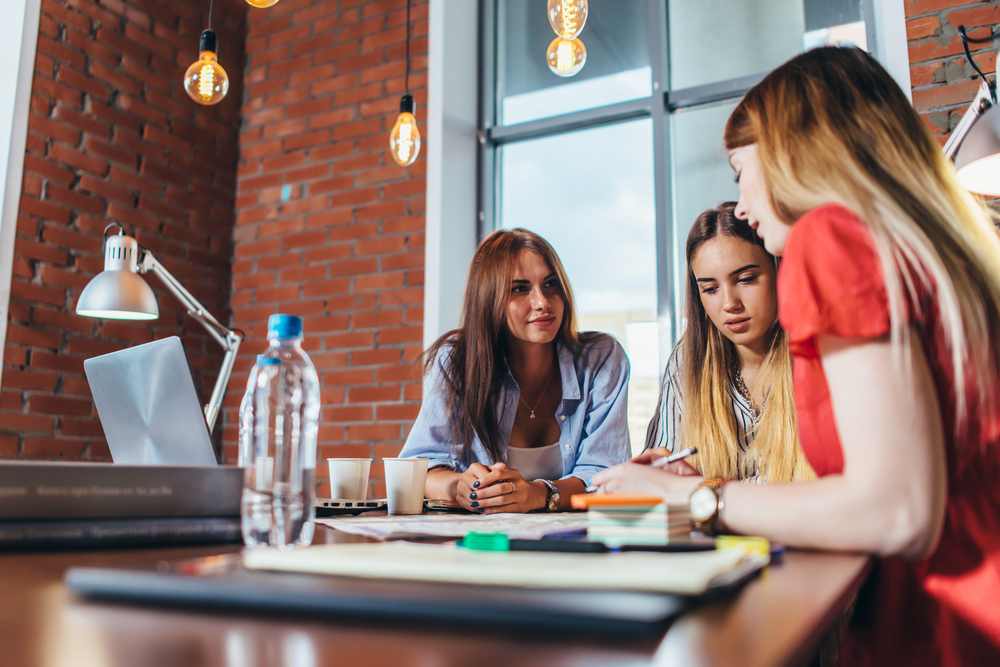 coworking space, coworking office, women coworking